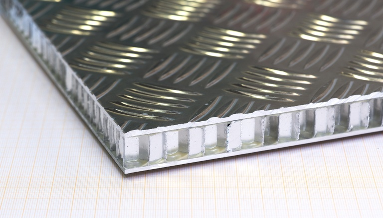 Aluminium Riffelpaneel